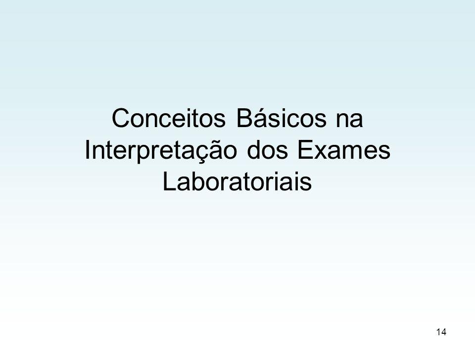 Conceitos Básicos na Interpretação dos Exames Laboratoriais