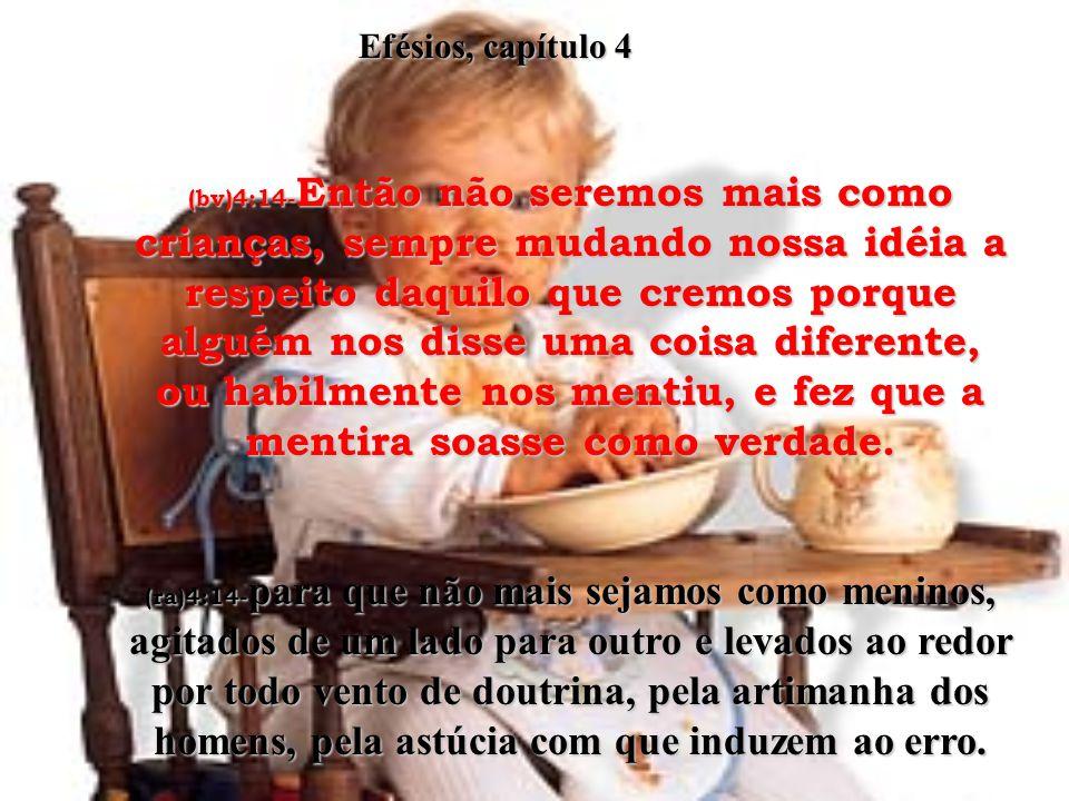 Efésios, capítulo 4
