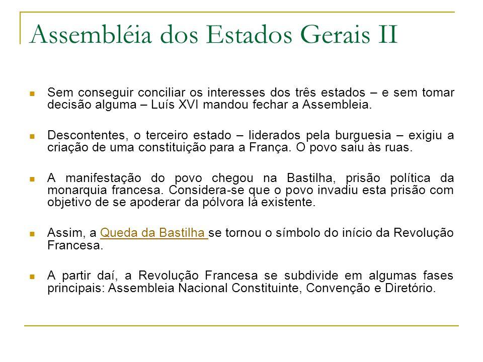 Assembléia dos Estados Gerais II