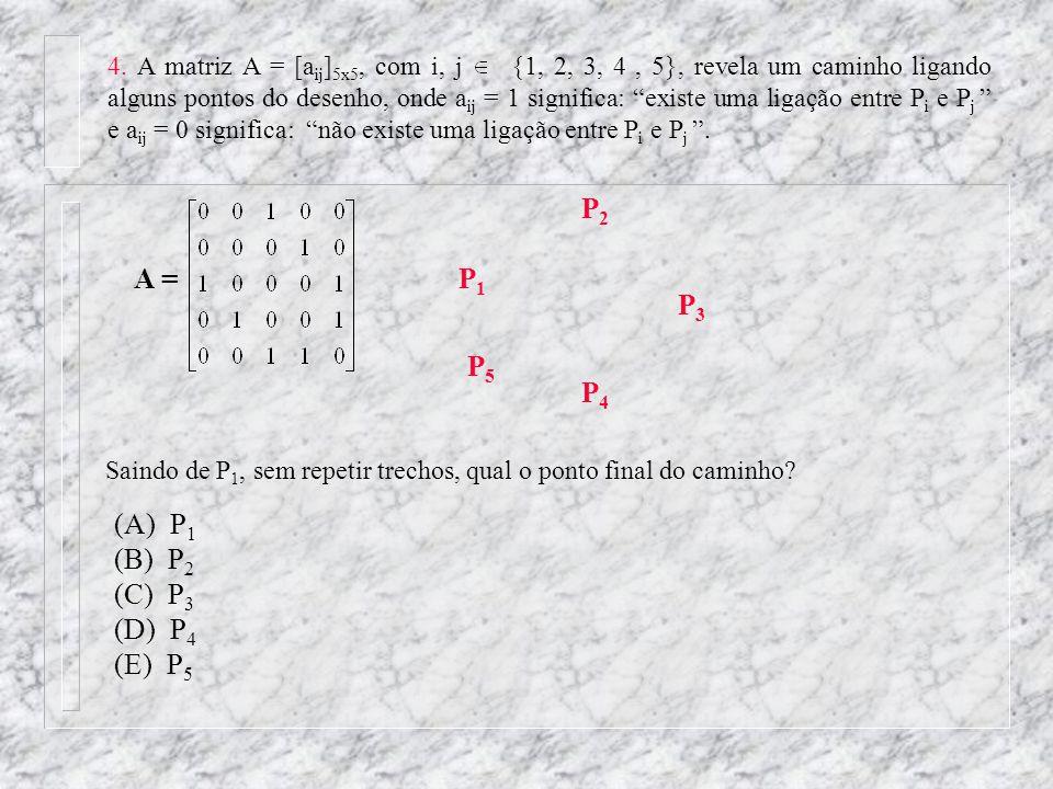 P2 A = P1 P3 P5 P4 (A) P1 (B) P2 (C) P3 (D) P4 (E) P5