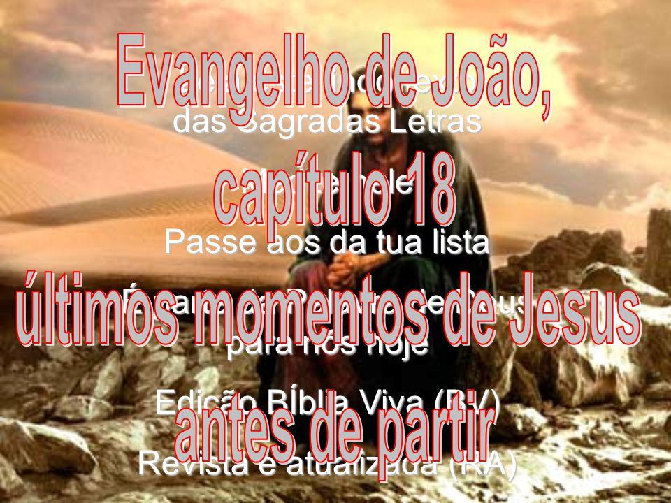 últimos momentos de Jesus