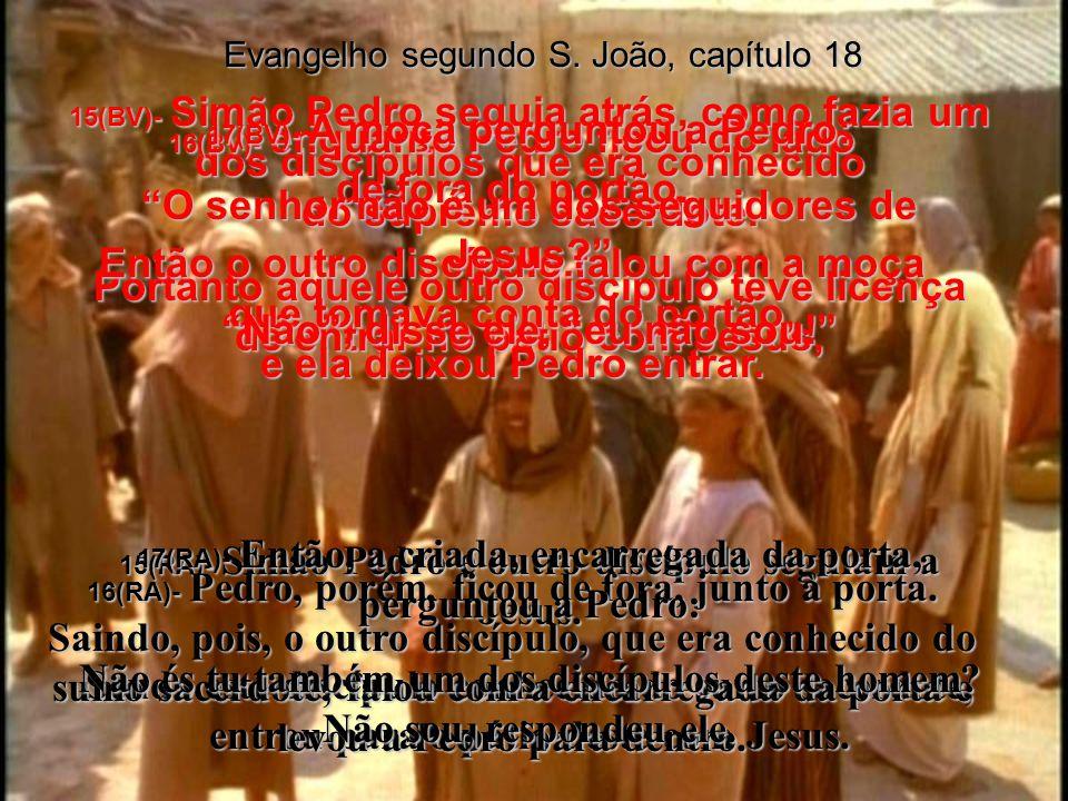 O senhor não é um dos seguidores de Jesus