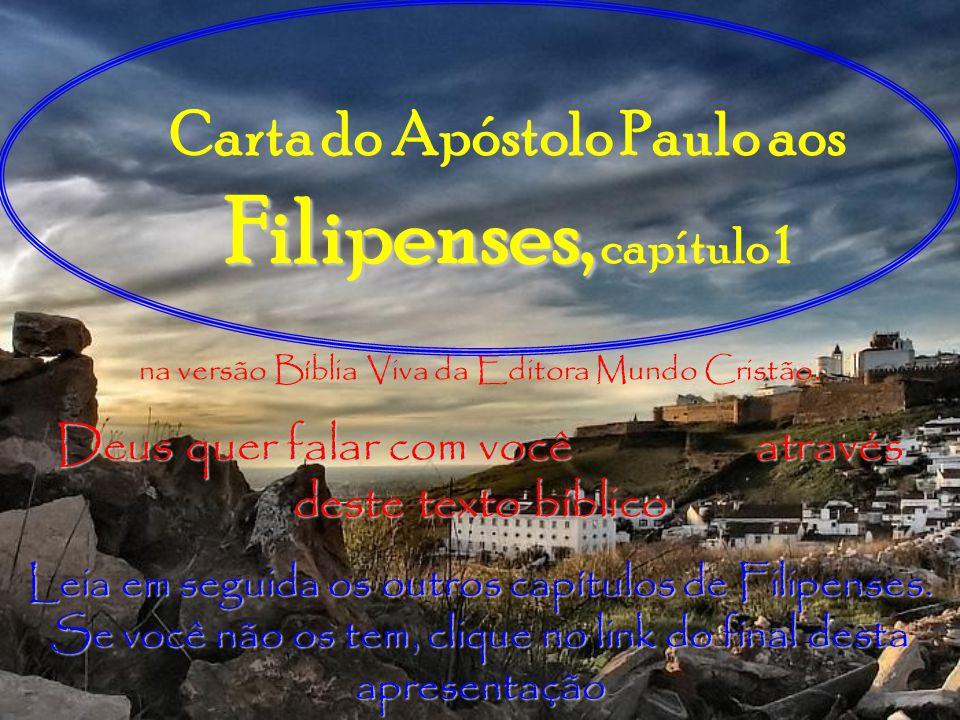 Carta do Apóstolo Paulo aos Filipenses, capítulo 1