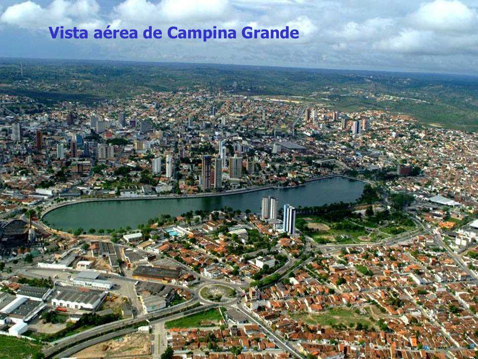 Vista aérea de Campina Grande