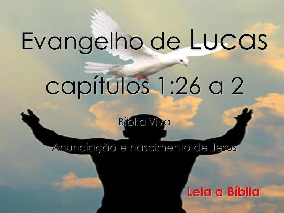 Evangelho de Lucas capítulos 1:26 a 2
