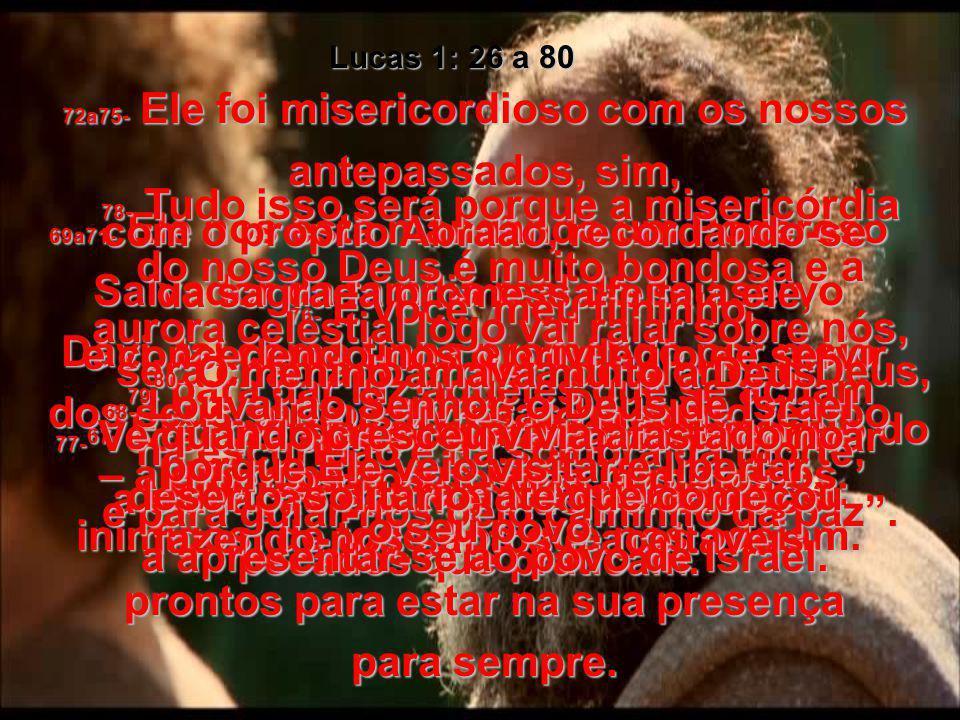 Lucas 1: 26 a 80