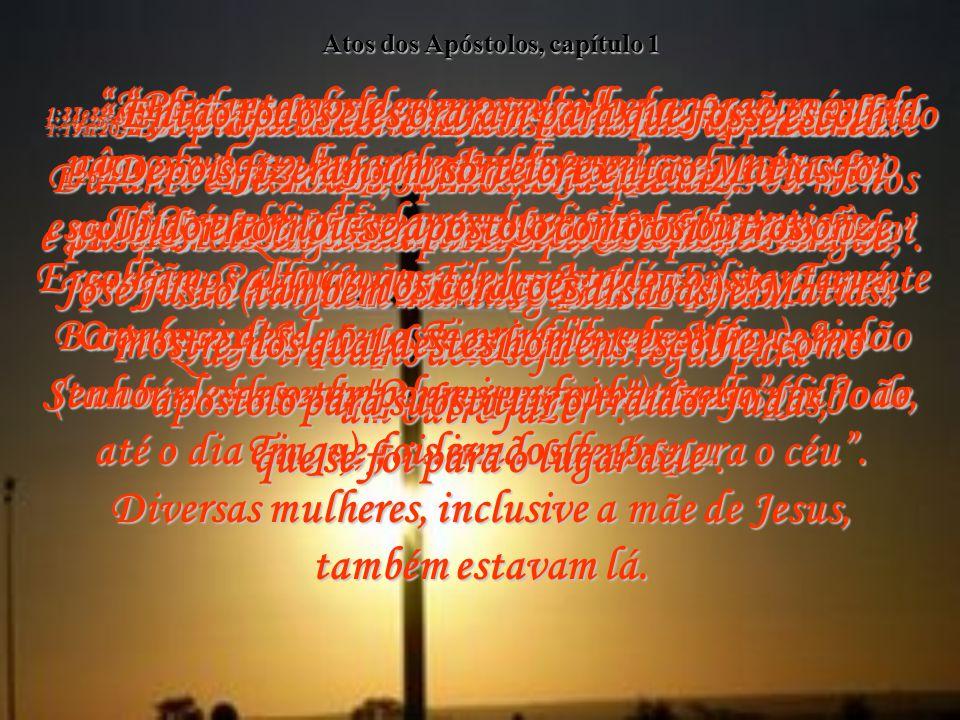 Atos dos Apóstolos, capítulo 1