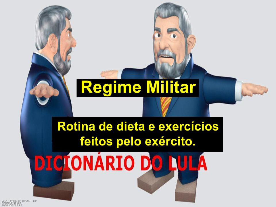 Rotina de dieta e exercícios feitos pelo exército.