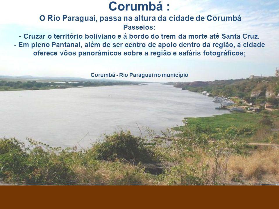 Corumbá - Rio Paraguai no município