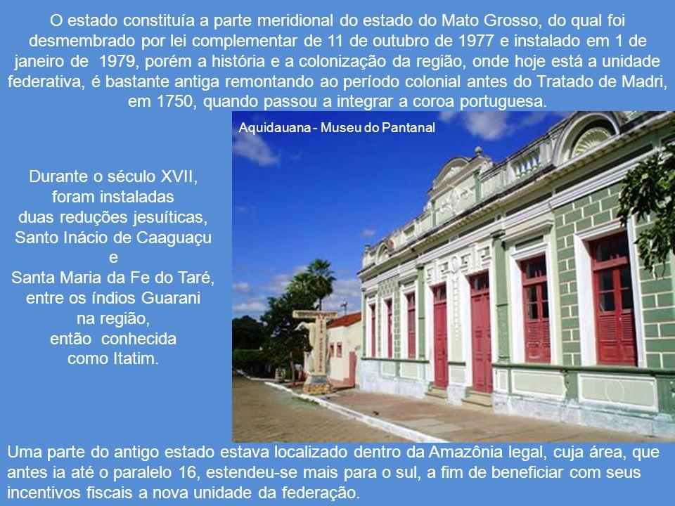 Durante o século XVII, foram instaladas duas reduções jesuíticas,