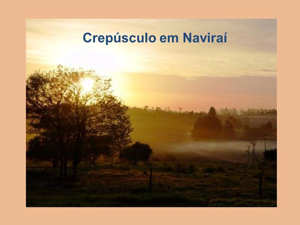 Crepúsculo em Naviraí