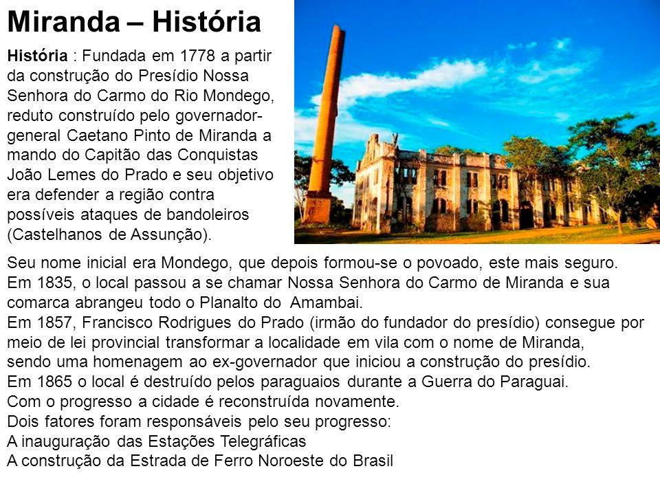 Miranda – História