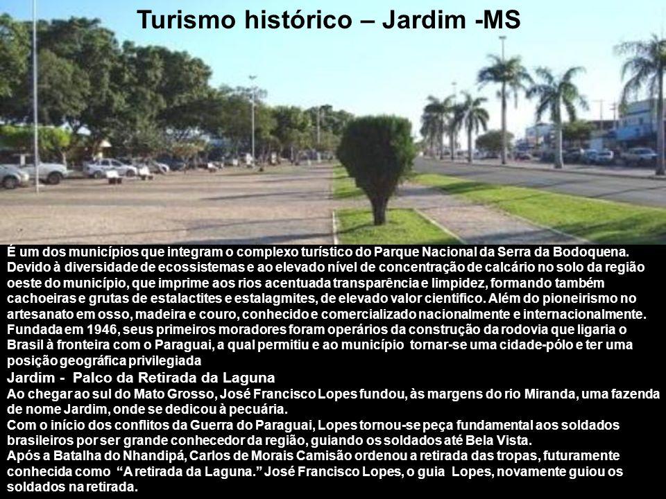 Turismo histórico – Jardim -MS