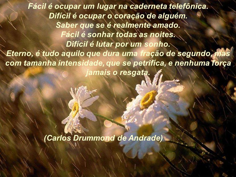 (Carlos Drummond de Andrade)