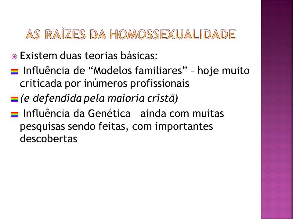 As raízes da homossexualidade