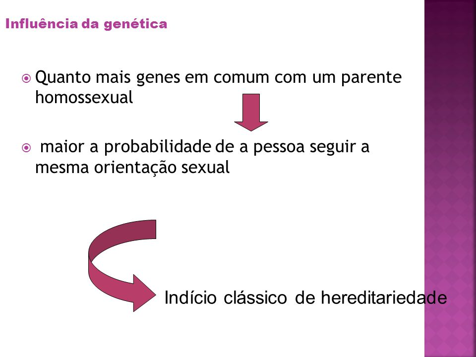 Indício clássico de hereditariedade