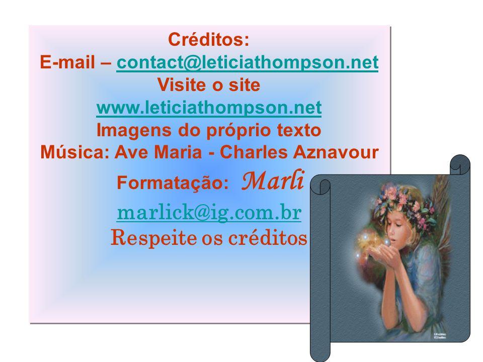 marlick@ig.com.br Respeite os créditos