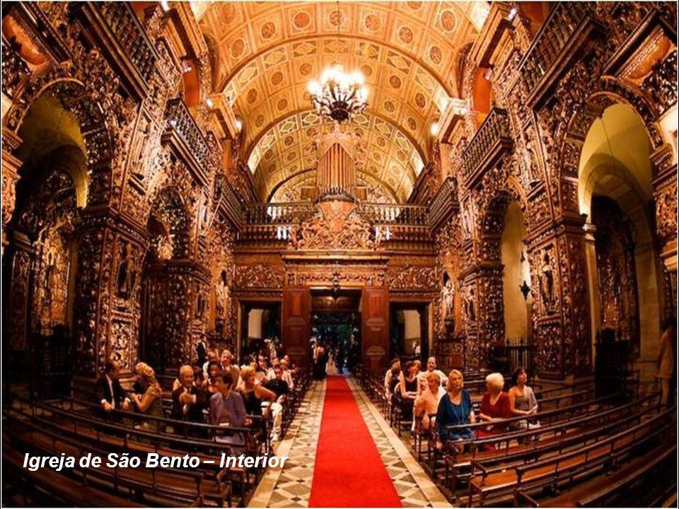 Igreja de São Bento – Interior
