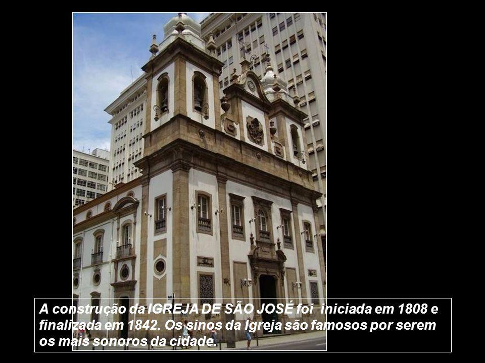 A construção da IGREJA DE SÃO JOSÉ foi iniciada em 1808 e finalizada em 1842.