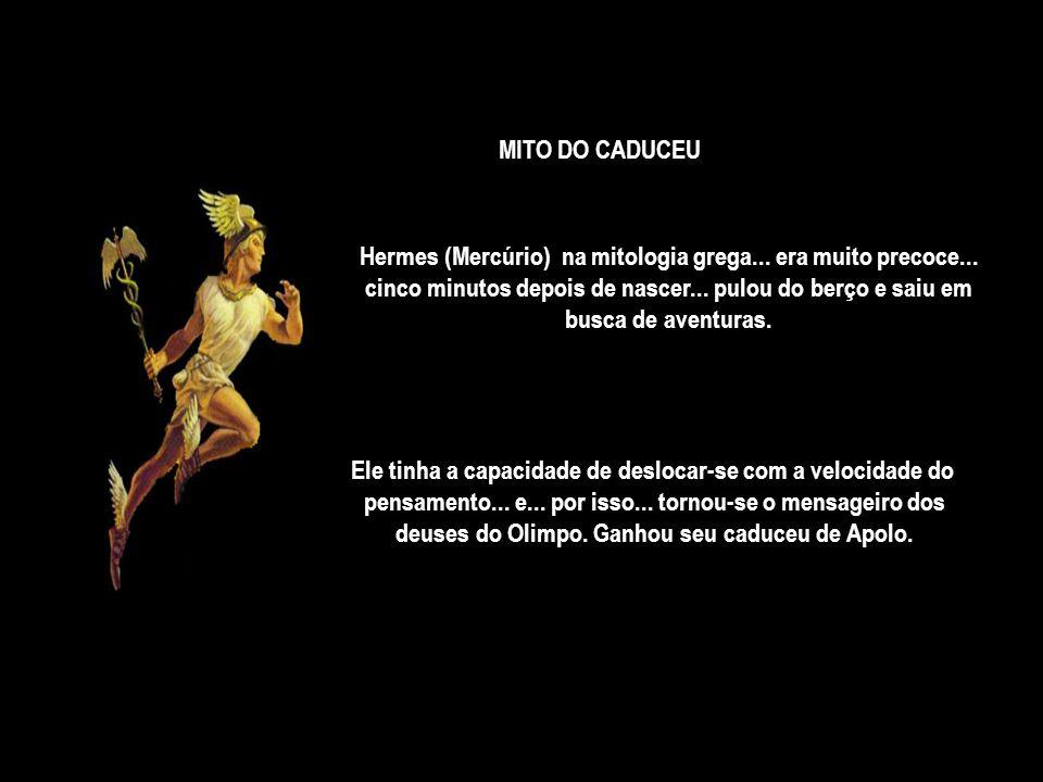 Hermes (Mercúrio) na mitologia grega... era muito precoce...