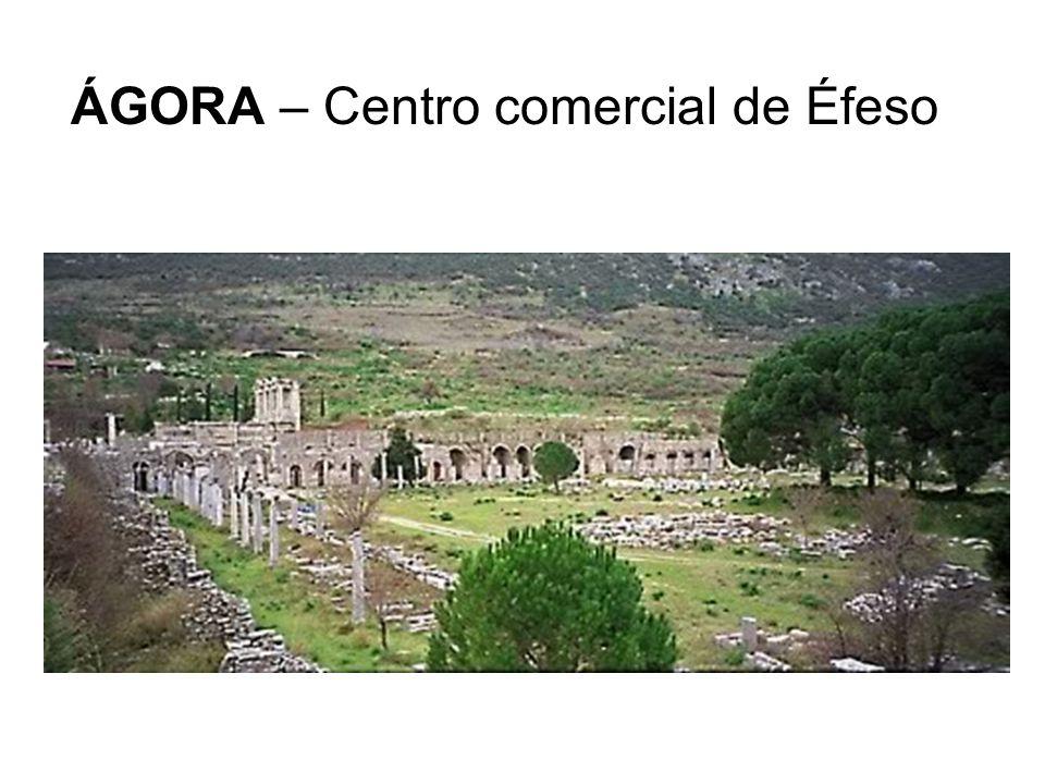 ÁGORA – Centro comercial de Éfeso