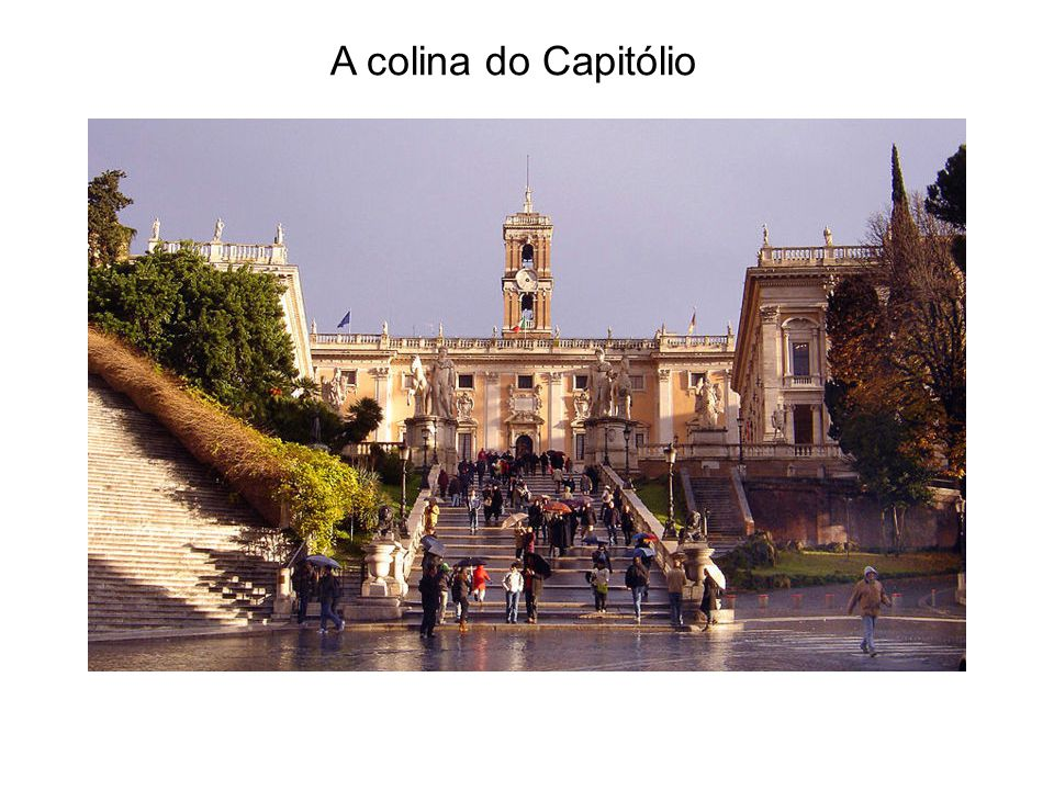 A colina do Capitólio