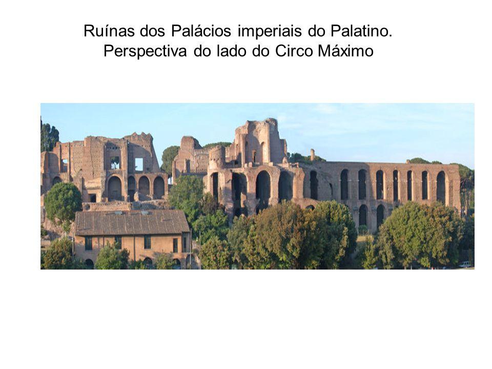 Ruínas dos Palácios imperiais do Palatino
