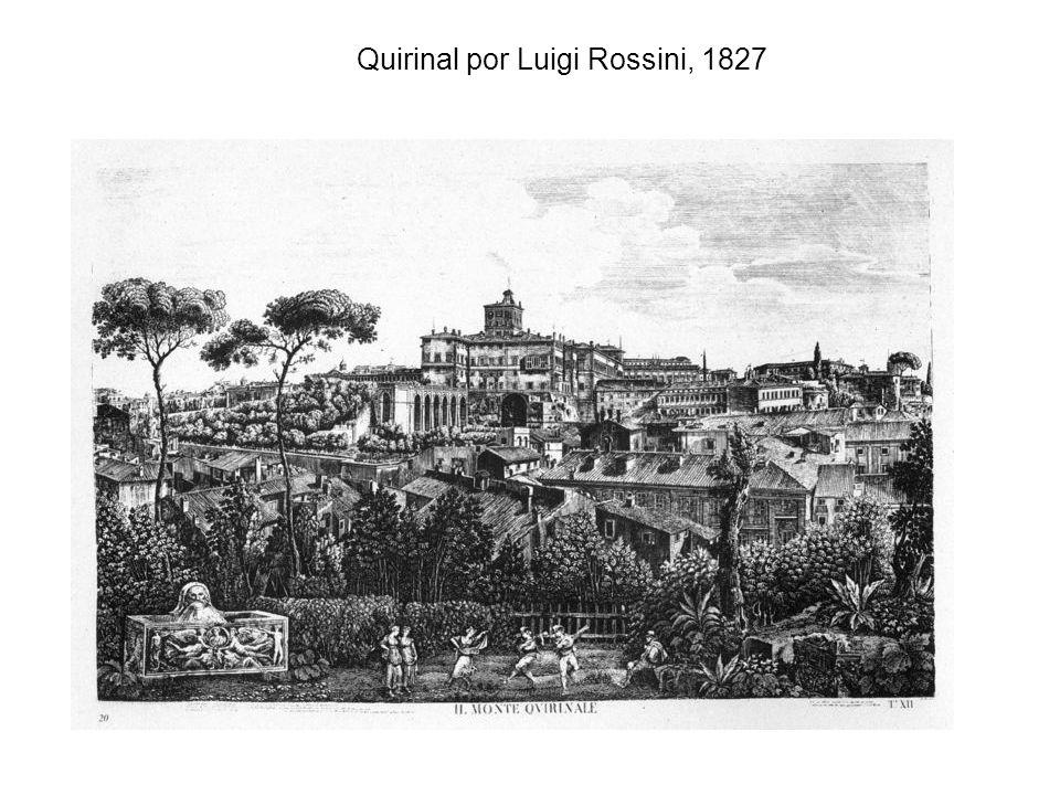 Quirinal por Luigi Rossini, 1827