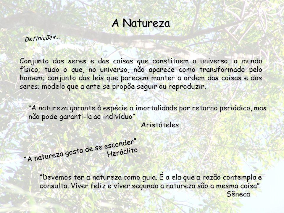 A Natureza Definições...