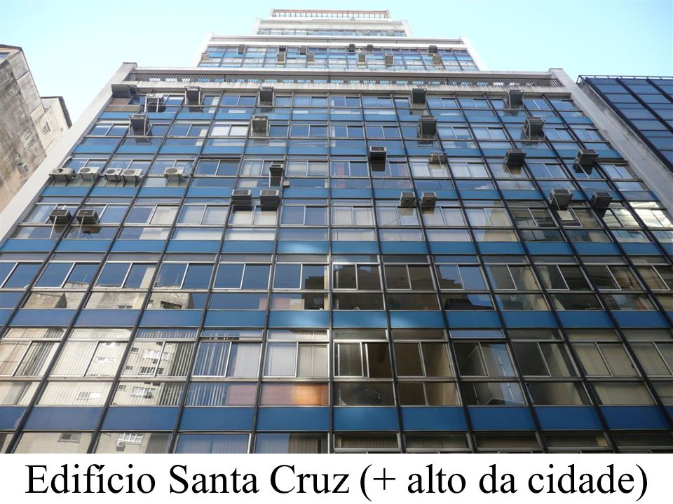 Edifício Santa Cruz (+ alto da cidade)