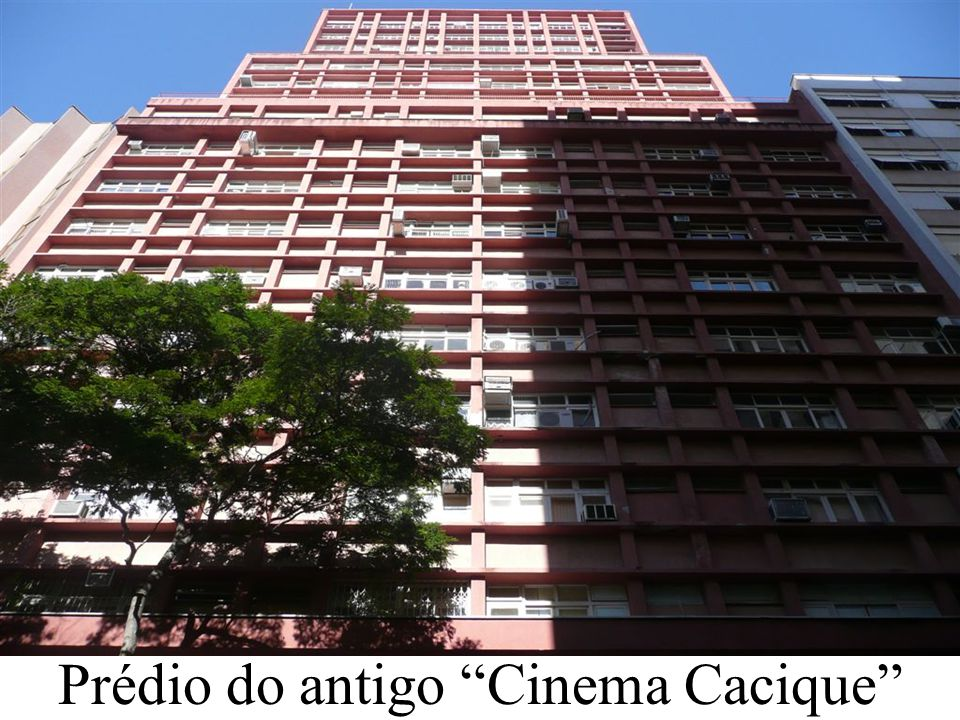 Prédio do antigo Cinema Cacique