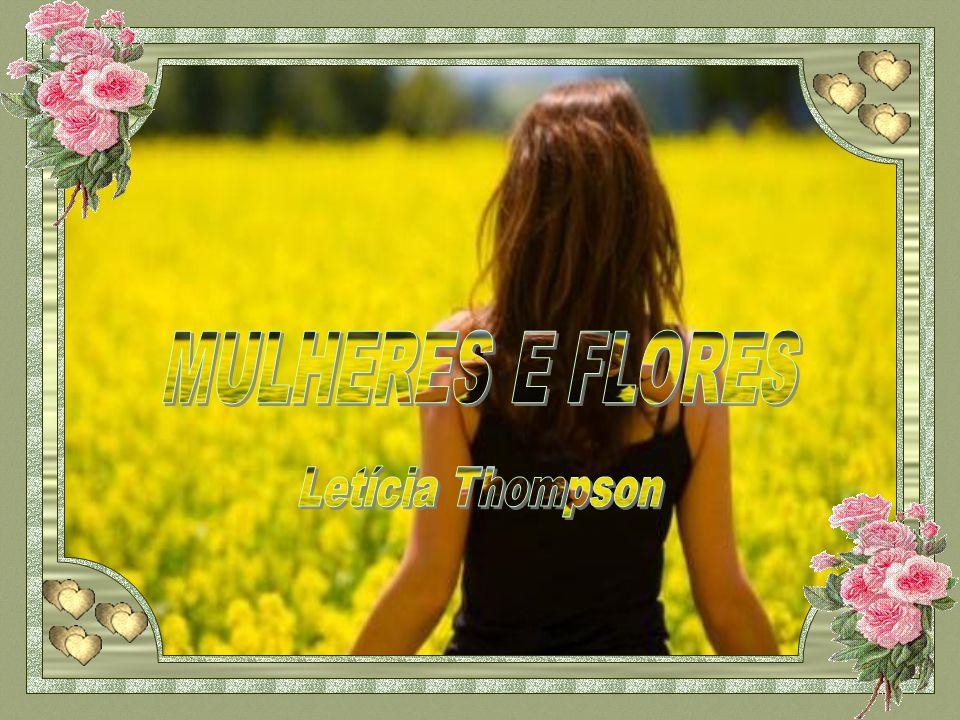 MULHERES E FLORES Letícia Thompson