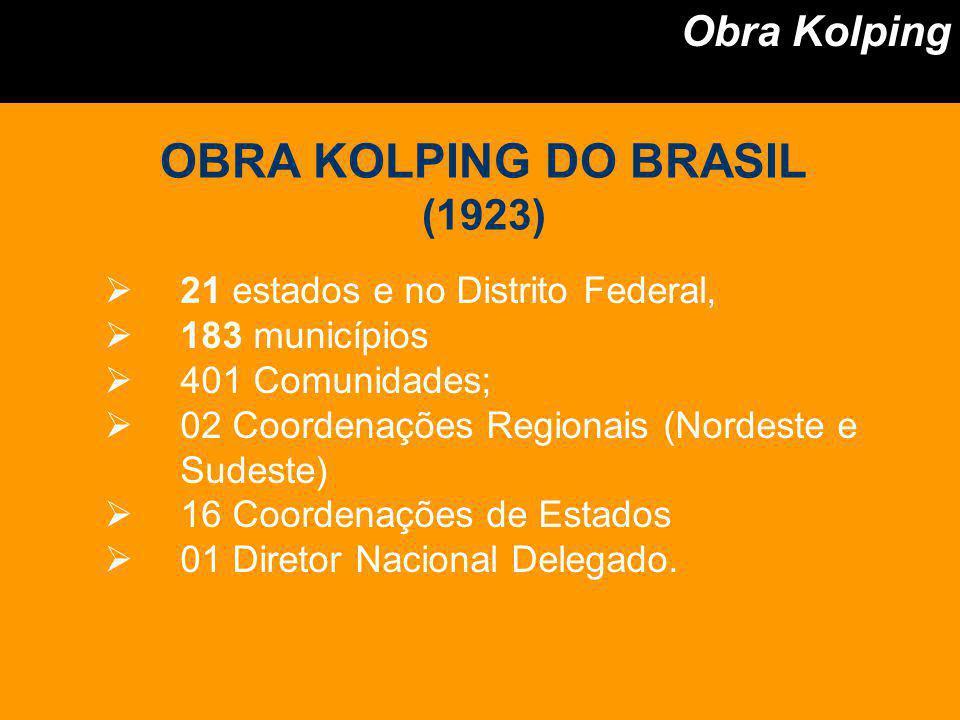 OBRA KOLPING DO BRASIL Obra Kolping (1923)
