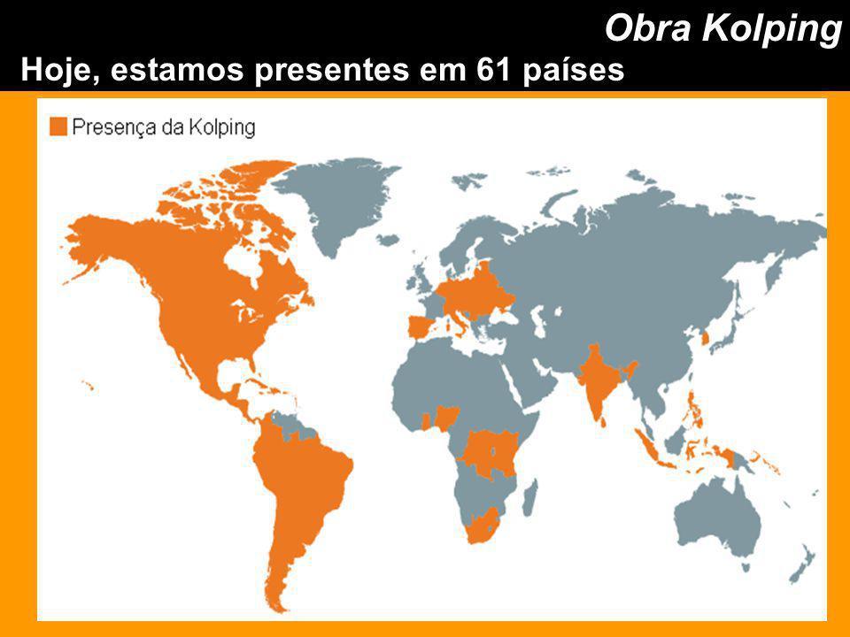 Hoje, estamos presentes em 61 países