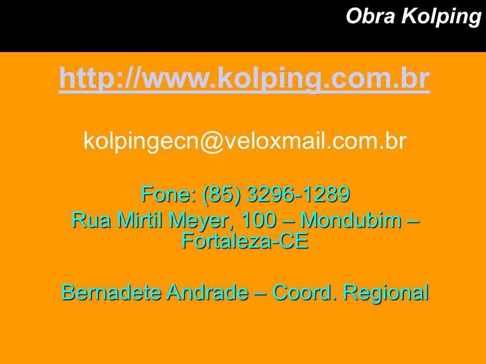 http://www.kolping.com.br kolpingecn@veloxmail.com.br Obra Kolping