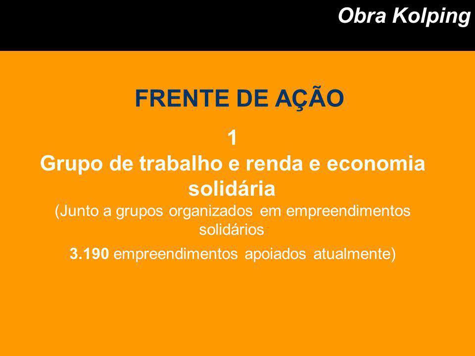 Grupo de trabalho e renda e economia solidária