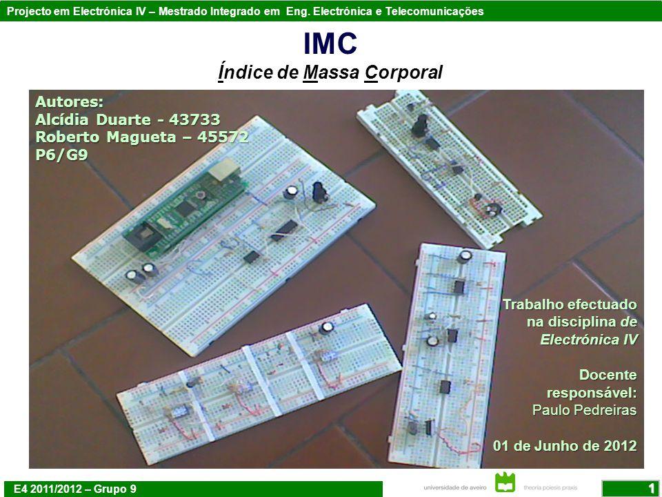 IMC Índice de Massa Corporal