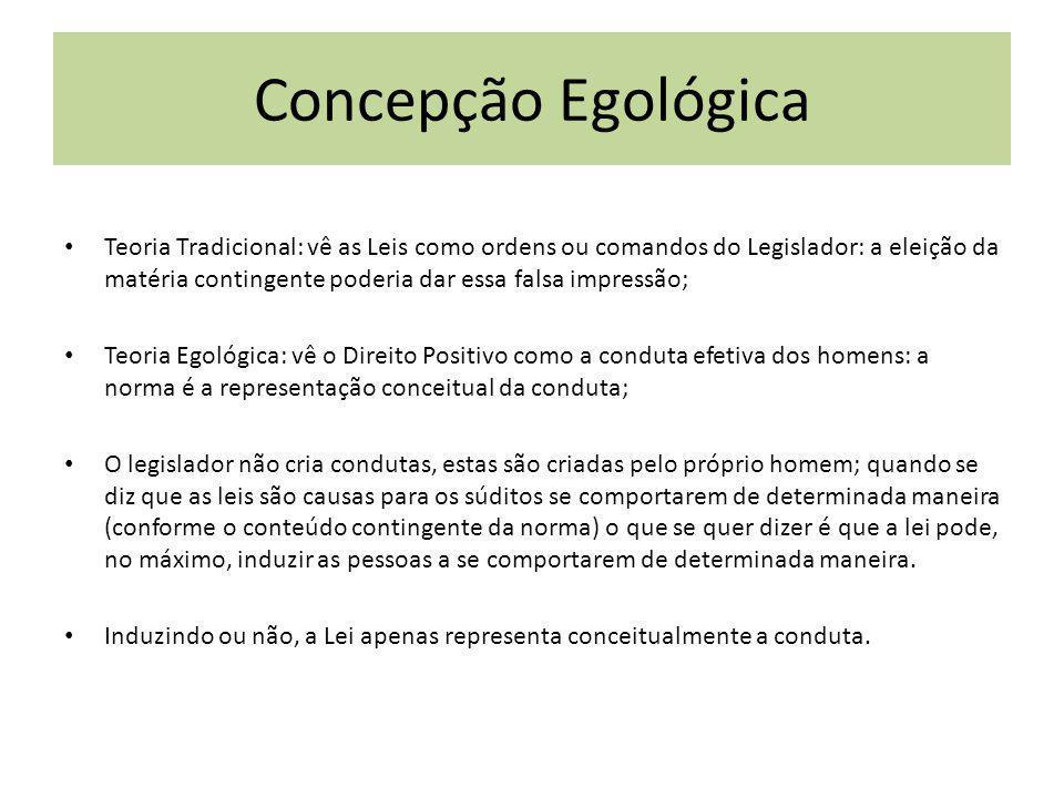 Concepção Egológica