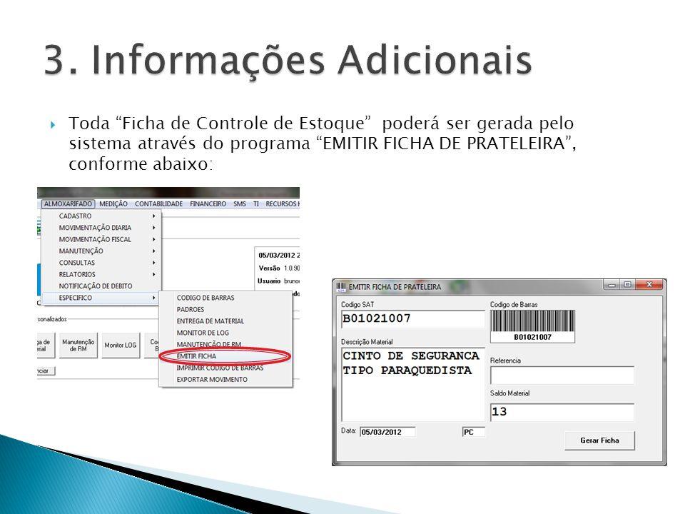 3. Informações Adicionais