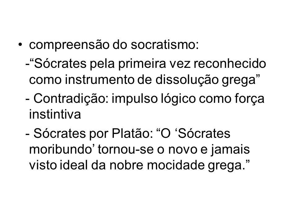 compreensão do socratismo: