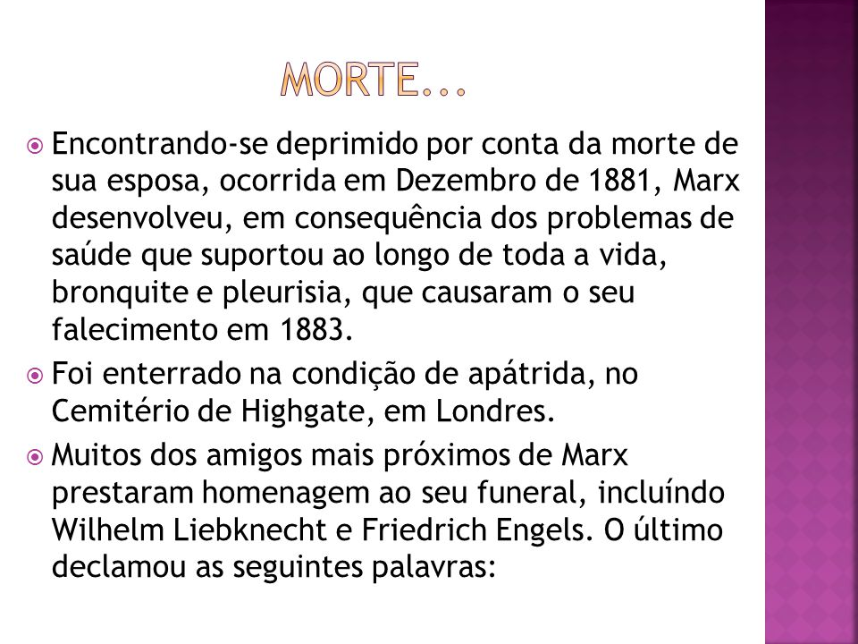 Morte...