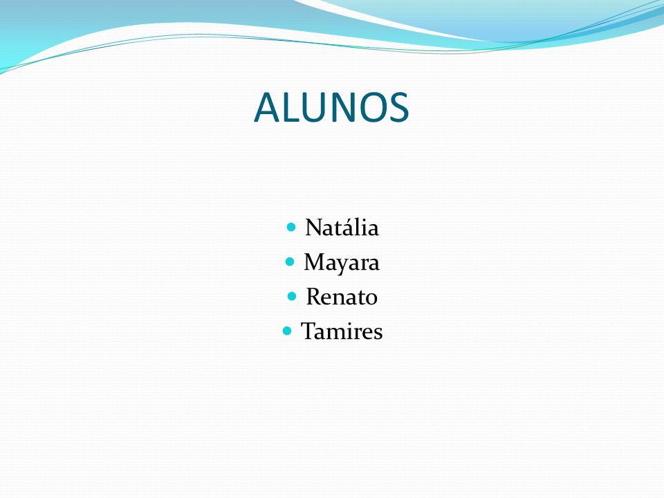 ALUNOS Natália Mayara Renato Tamires