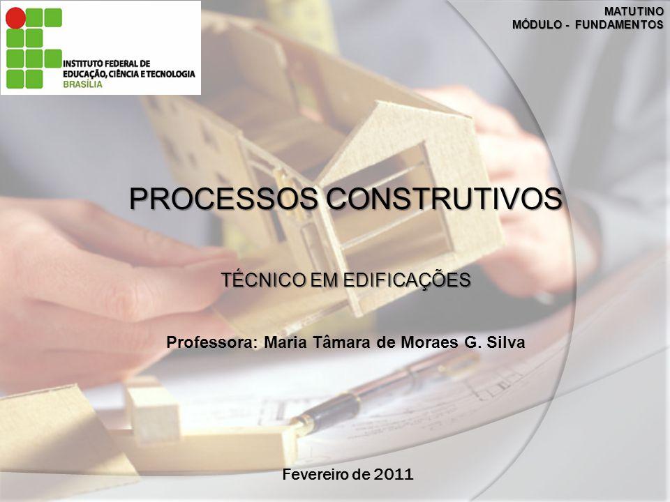 Professora: Maria Tâmara de Moraes G. Silva