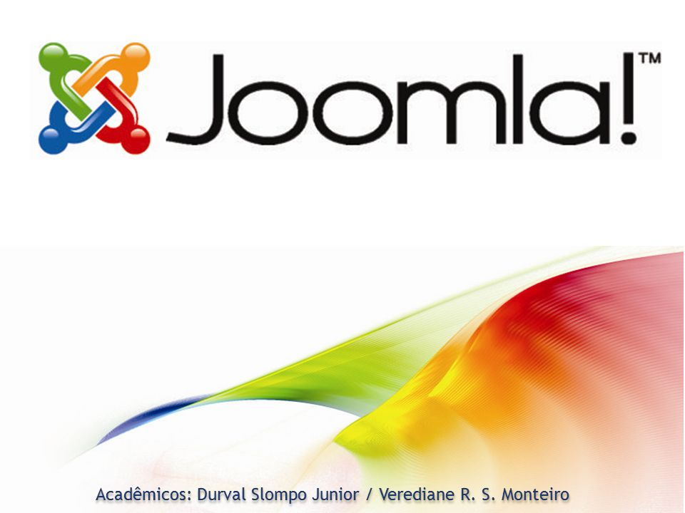 Acadêmicos: Durval Slompo Junior / Verediane R. S. Monteiro