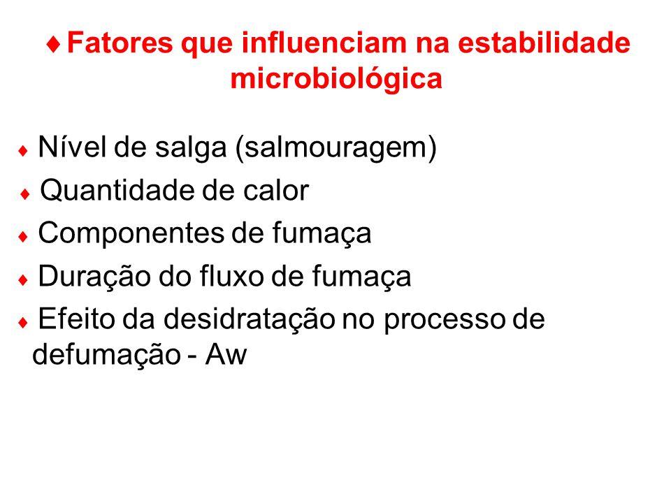 Fatores que influenciam na estabilidade microbiológica