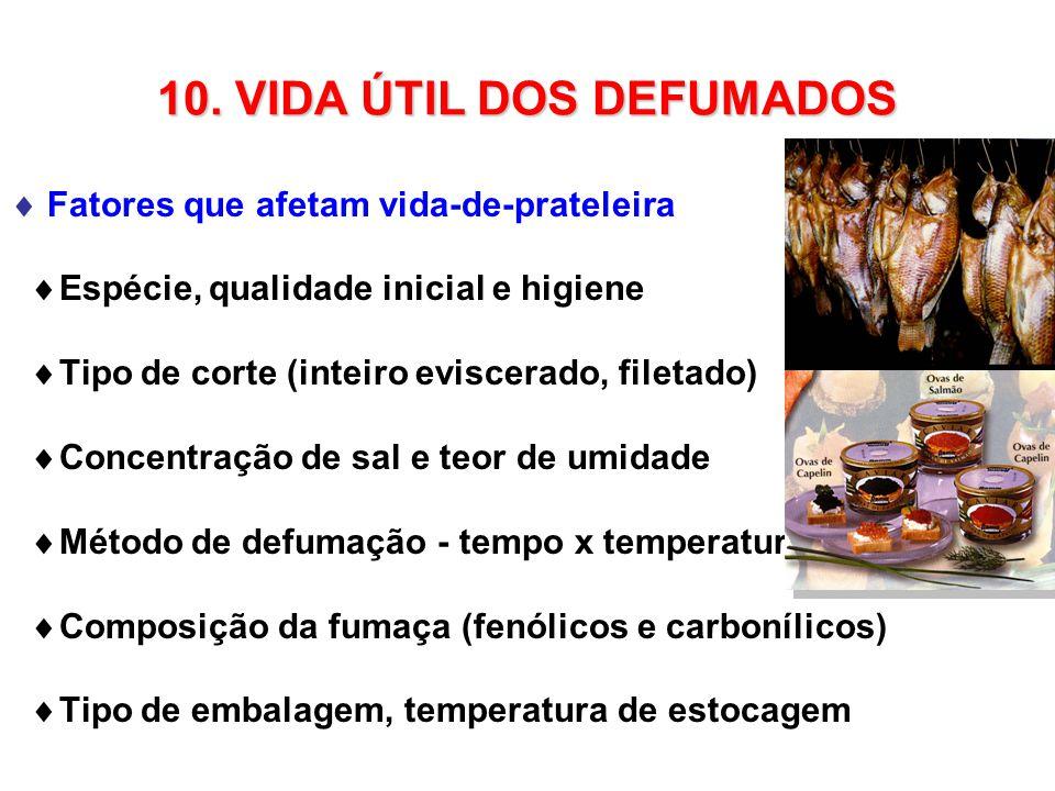 10. VIDA ÚTIL DOS DEFUMADOS
