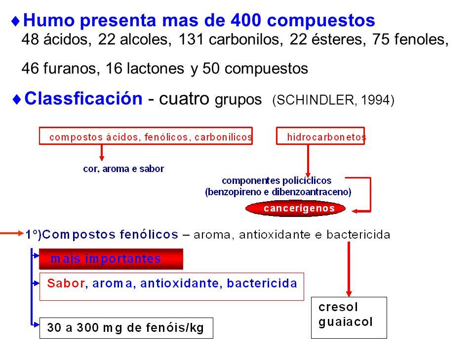 Humo presenta mas de 400 compuestos