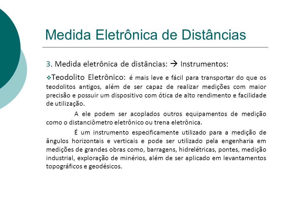 Medida Eletrônica de Distâncias