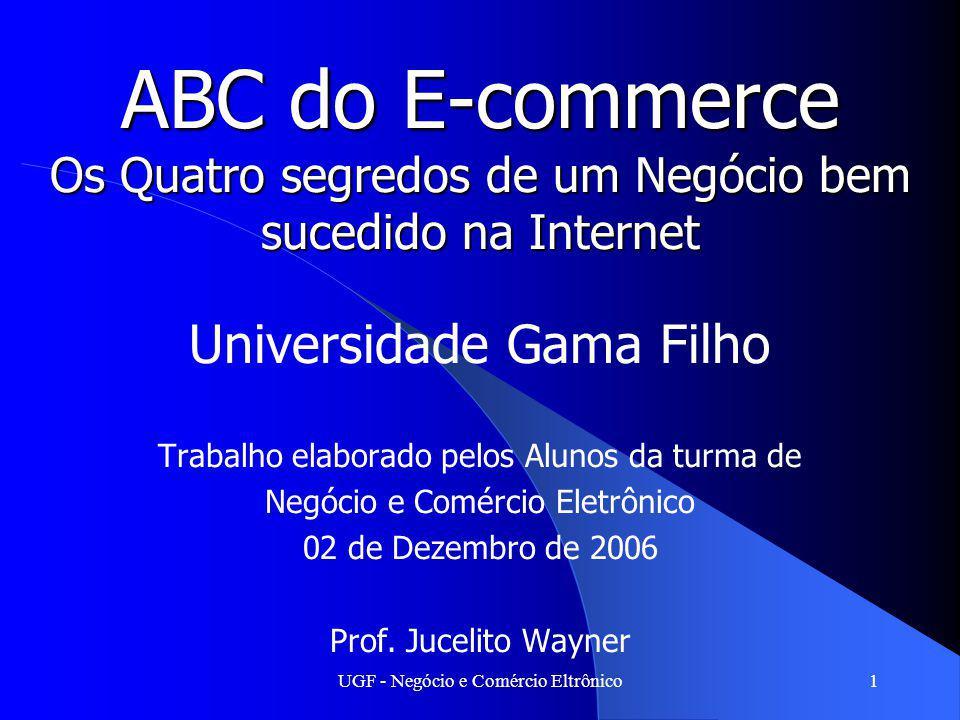 ABC do E-commerce Os Quatro segredos de um Negócio bem sucedido na Internet