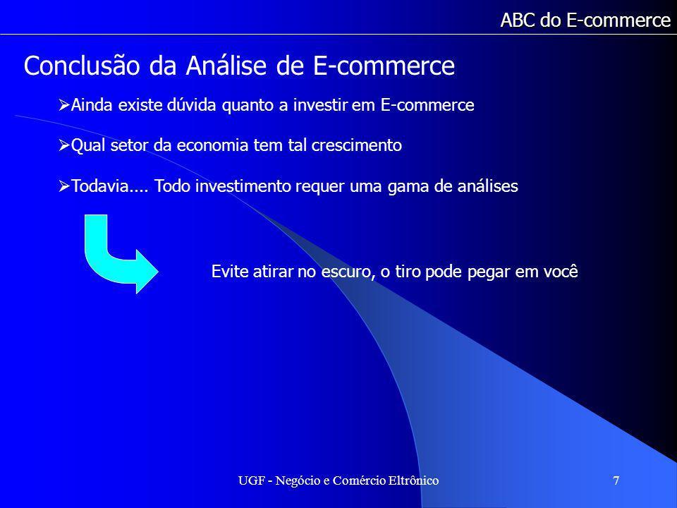 Conclusão da Análise de E-commerce